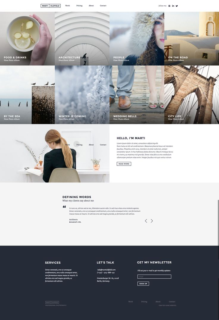 11 best website templates by webydo images on pinterest themes for freelance web designers agencies pronofoot35fo Image collections