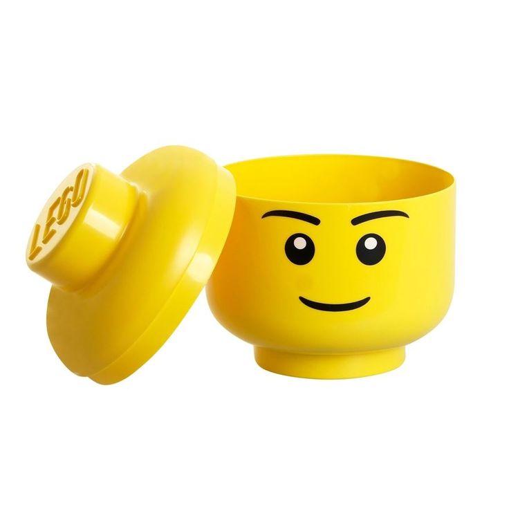 LEGO Storage Head Small Boy by Lego - Shop Online for Toys in Australia
