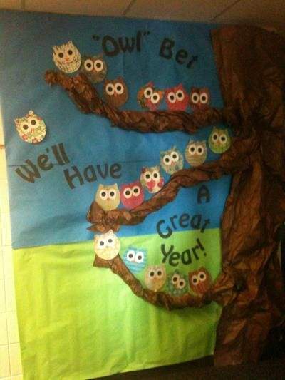 Owl Stars Bulletin Board Ideas