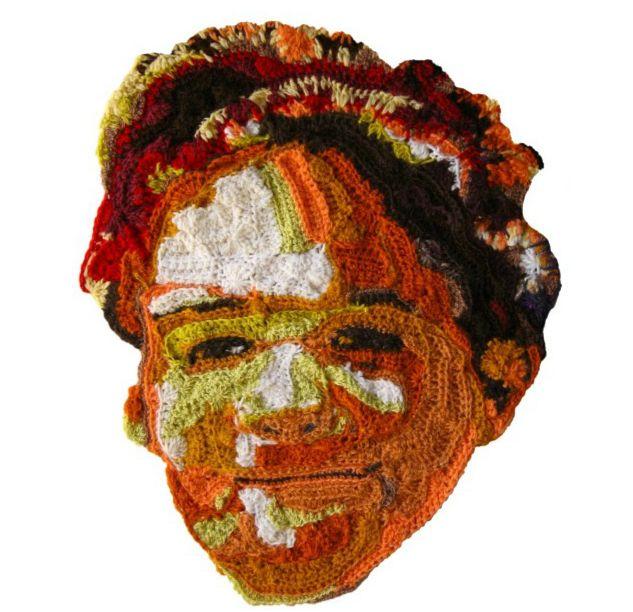 Crochet Portraiture by Pat Ahern