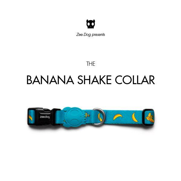 Zee.Dog   Banana Shake Collar
