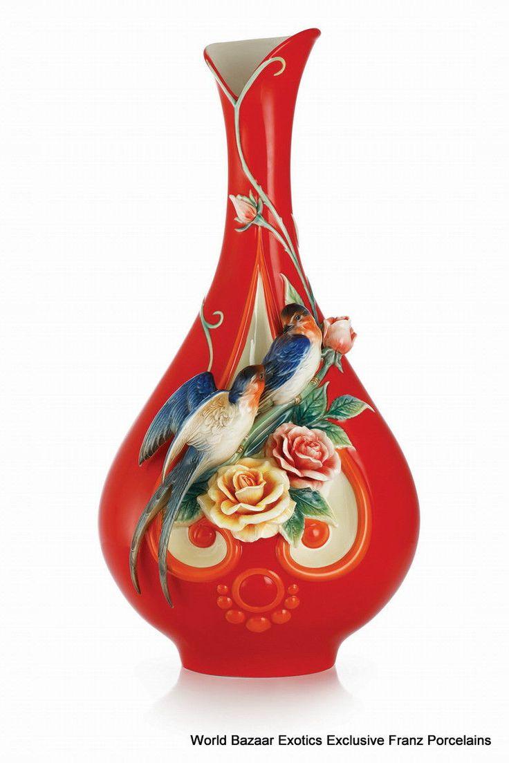 170 best franz porcelain images on pinterest fz03035 brilliance chinese rose l vase by franz porcelain exclusive le 1688 reviewsmspy