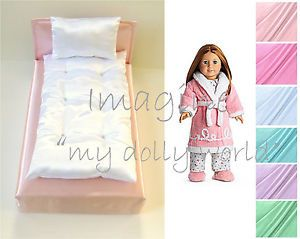 "Doll Mattress And Pillow Set for 18"" doll - Soft and Silky -"