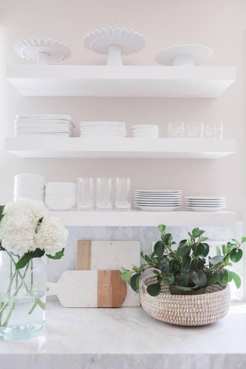 White Kitchen Shelves 295 best floating shelves images on pinterest | kitchen, floating