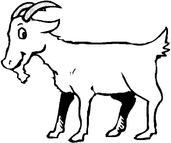 Line Drawing Of A Goat ClipArt Best kussings in 2019