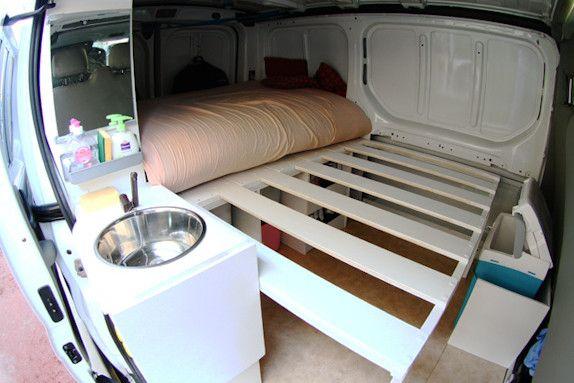 17 meilleures id es propos de vito am nag sur pinterest camion camping c - Banquette a faire soi meme ...