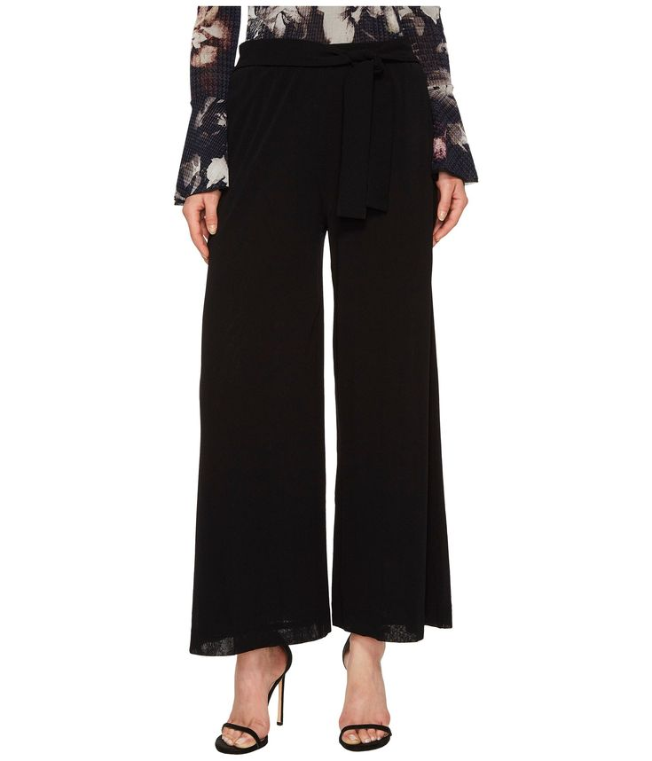 FUZZI Solid Belted Karate Pants Cover-Up. #fuzzi #cloth #