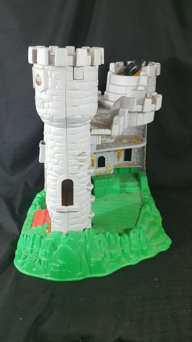 Fisher Price GREAT ADVENTURES CASTLE 1994 Child Pretend Toy 7110 | eBay