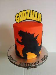 Image result for godzilla birthday cake