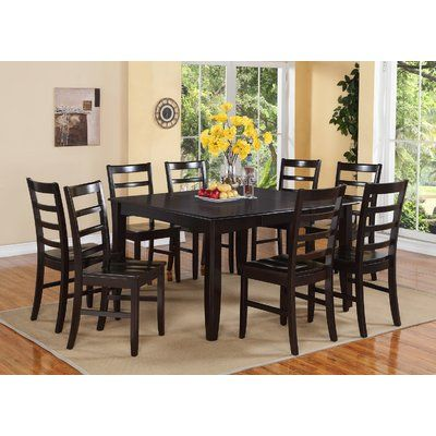 Red Barrel Studio Krull 5 Piece Dining Set Wayfair Square Dining Room Table Dining Room Table Set 8 Person Dining Table