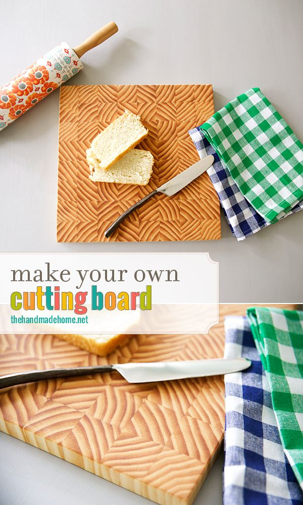 Make your own cutting board woodworking projects plans for Make your own chopping board