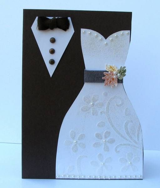 Chocolate Chip Wedding by Broom - Cards and Paper Crafts at Splitcoaststampers