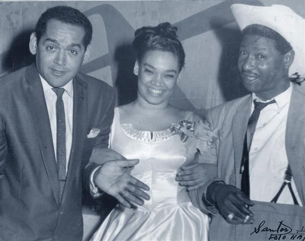L-R:  Pacho Alonso, La Lupe and Beny More.