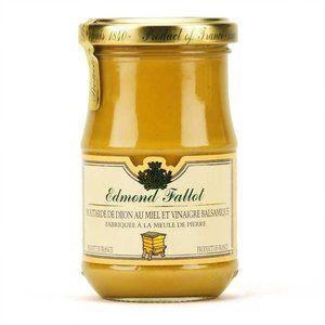 Etablissements Fallot - Moutarde de Dijon au miel et au vinaigre Balsamique