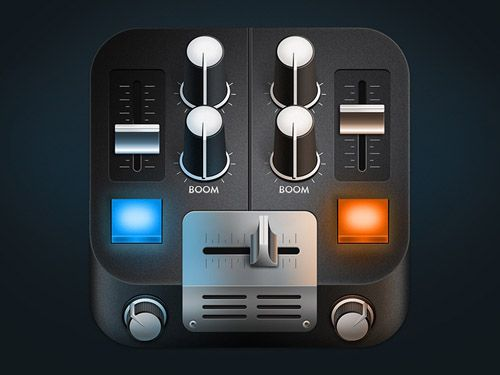 Mixing Desk Mobile App Icons-36