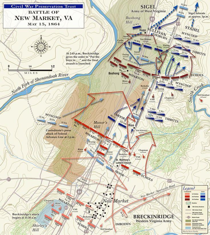 Civil War New market | The Battle of New Market