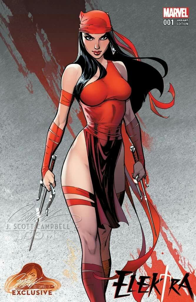 Elektra by J Scott Campbell