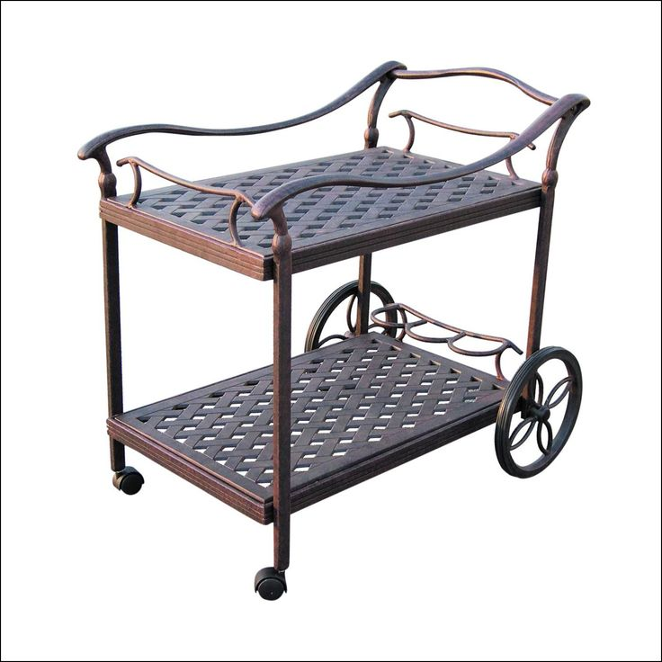 Outdoor Tea Carts with Wheels