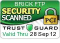 Transit encryption makes Brick safer than traditional FTP servers