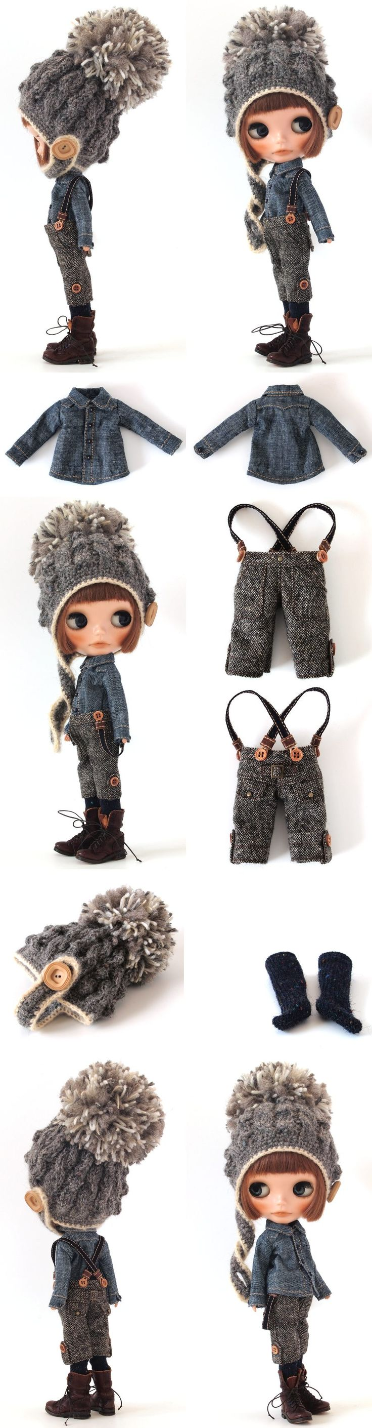 ** Blythe outfit ** Lucalily 352**の画像:mahounote.