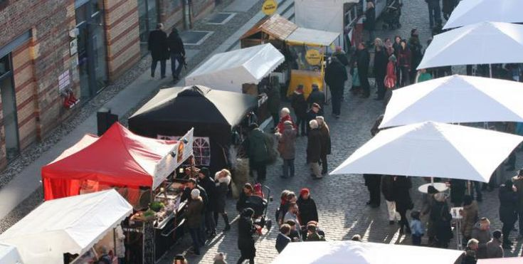 Street Food Markt in der Kulturbrauerei