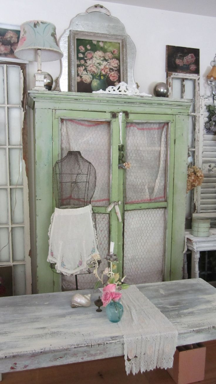 Vintage  french wire dress form  shabby chic cottage chic prairie