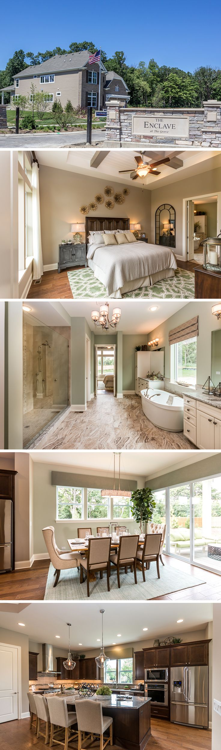 Sumptuous tudor style homes method philadelphia traditional bathroom - The Martinwood By David Weekley Homes In Enclave At The Grove Is A 4 Bedroom Home