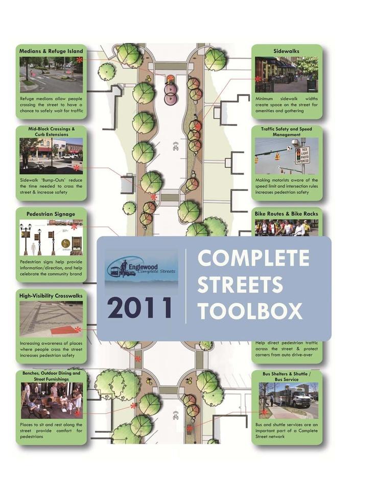 Complete street toolbox