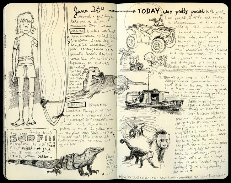 sketch journal ideas - Google Search
