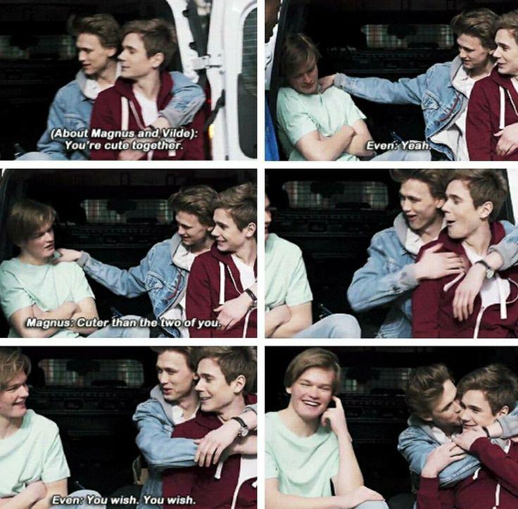 Skam Season 4 Magnus, Isak and Even