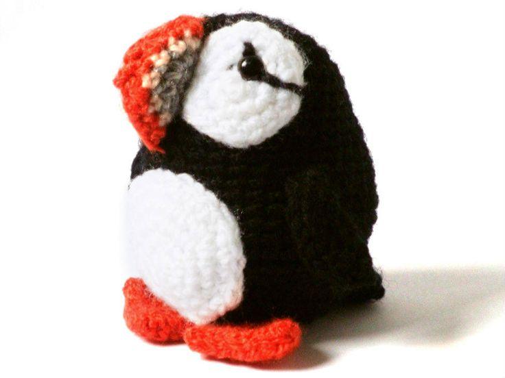 Puffin Amigurumi Crochet Pattern