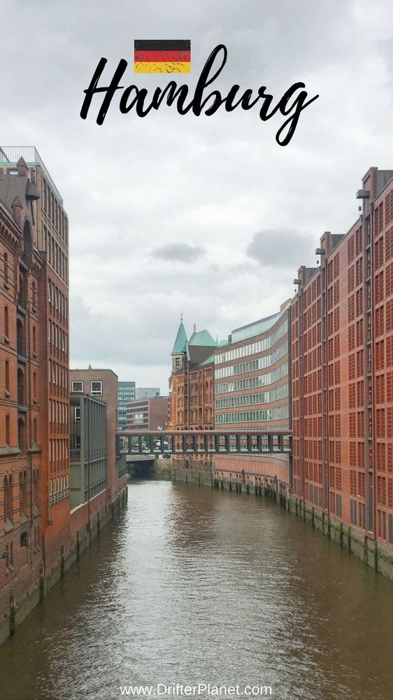 Canals and Bridges - Speicherstadt - Warehouse district in Hamburg, Germany - 11 Things About Hamburg That Make It Super Interesting