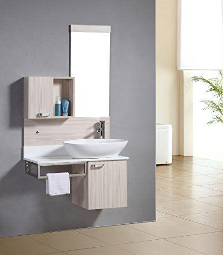 Badezimmermöbel Set   Badmöbel Dublin Eicheoptik   M 70105/2090   Spiegel    Unterschrank