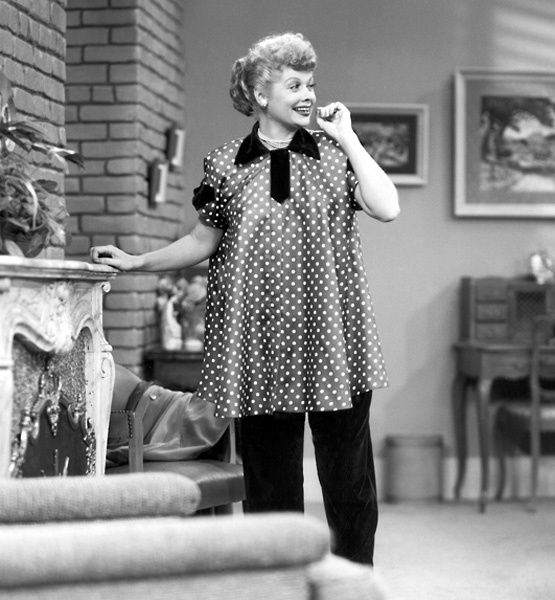 Lucille Ball S Pregnancy 1952 The Star Is Written Into I Love Lucy