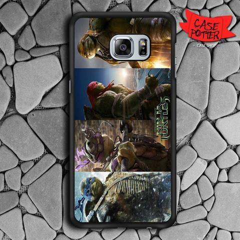 Teenage Mutant Ninja Turtles Samsung Galaxy S6 Edge Black Case