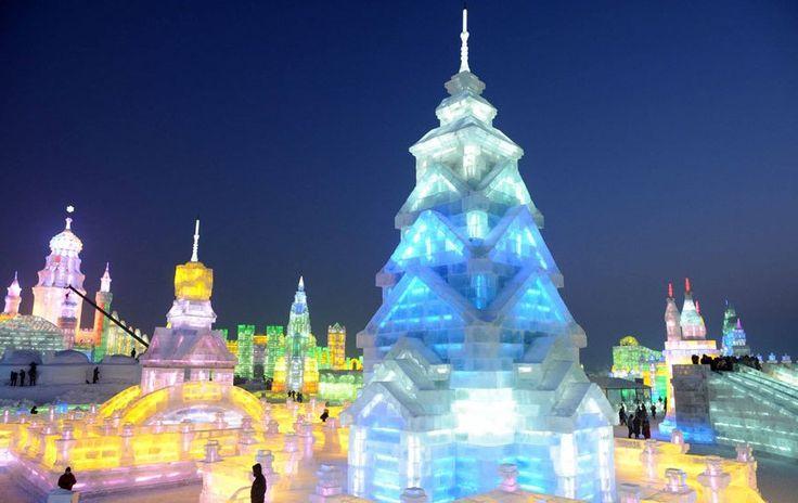 Картинки по запросу фестиваль льда и снега в харбине