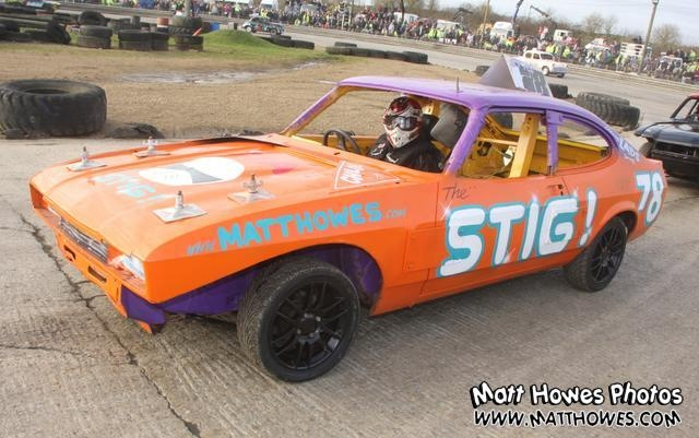 This Capri is being used for Banger Racing... I think its a shame, but each to their own I guess.