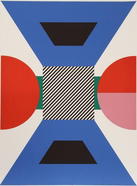 Kumi Sugai, Japanese (1919 - 1996) 1970 Silkscreen