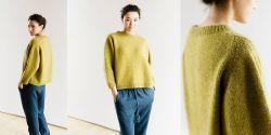 Пуловер оверсайз спицами фото с описанием