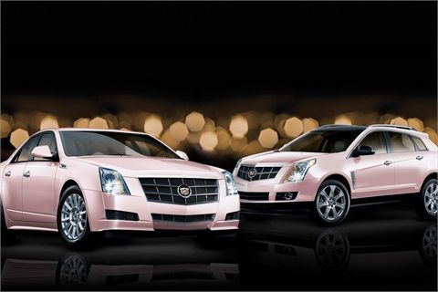 The current incarnation of the Mary Kay pink Cadillac. Photo source: Businesswire.