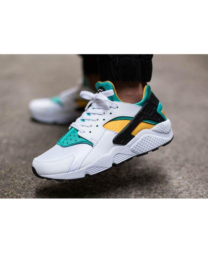 8ef963d1dfe4 Nike Air Huarache Og Yellow Green Trainer