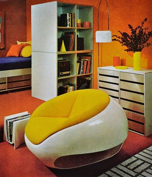 Early 1970s furniture design in Better Homes and Gardens.