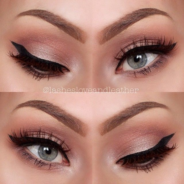 Sweet & subtle. This beautiful soft rosy look by Lashesloveandleather uses Makeup Geek's Creme Brûlée, Peach Smoothie, Unexpected, Sensuous, Prom Night and Bling eyeshadows.