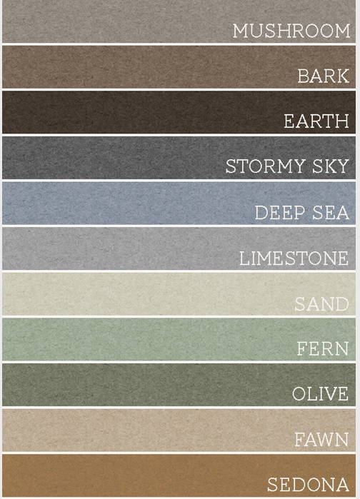 Earthy Colors <3 paint colors for the new house