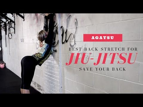Jiu Jitsu Flexibility - Best Stretch for your Back - YouTube