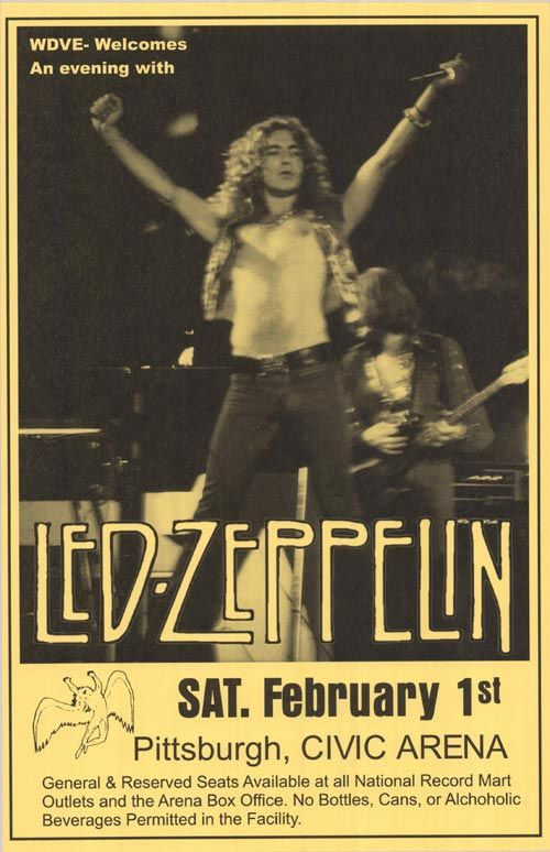 [ LED ZEPPELIN POSTER ]
