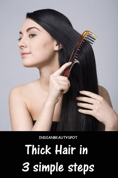 best ways for thick hair castor oil really does make hair grow..use it on your eyelashes too.