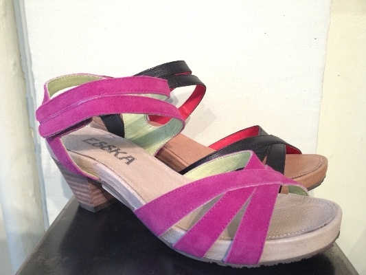 Esska - Spring Shoes!  Found at Edie's Shoes at the West Seattle Junction