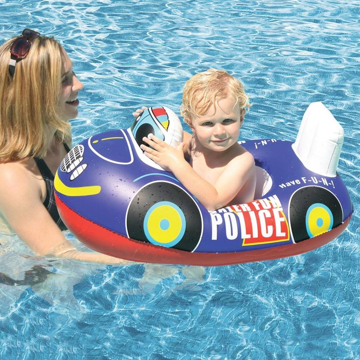 Police Car Baby Float