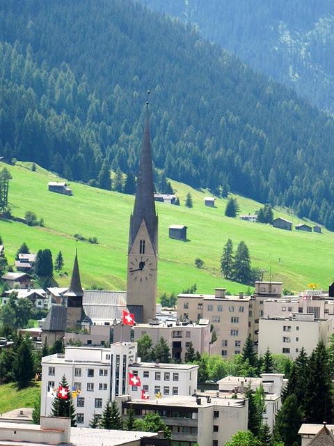 "Davos, Switzerland...""the hills are alive....!!!"""